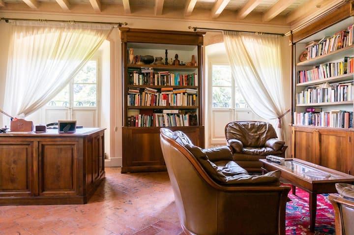 Appartamento in villa del 1700 con parco