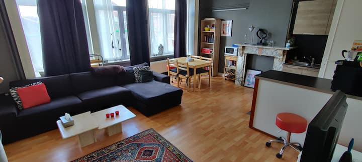 3p Appartment in city center, next to station