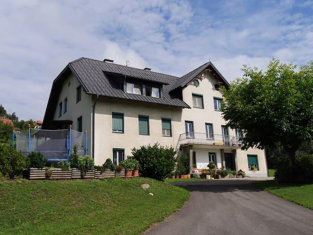 Ferienwohnung am Bauernhof - Pulst - Apartamento