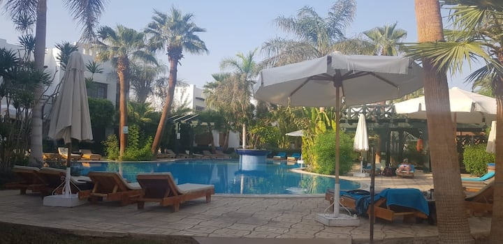 Delta Sharm - stunning apartment near pools