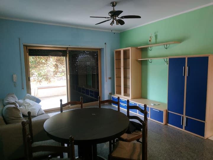 Appartamento con giardino 7 posti letto Campora
