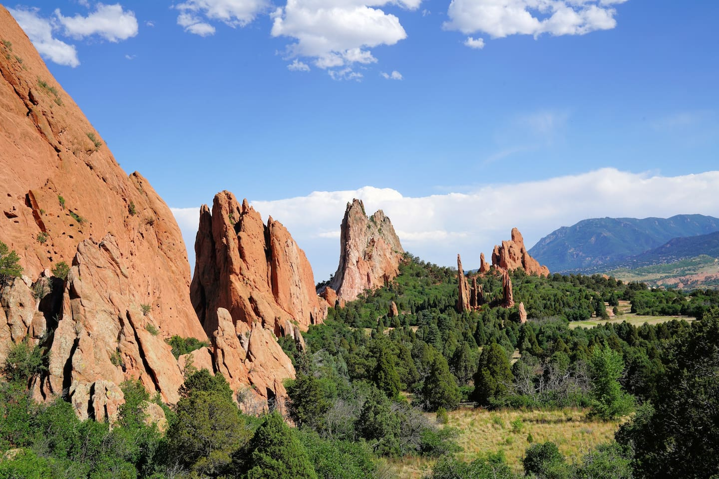 Wonderful Garden of the Gods Park just up the street.