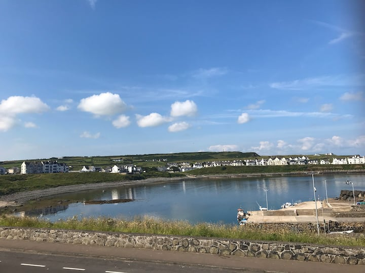 Obsidian: Arguably the best view in Portballintrae