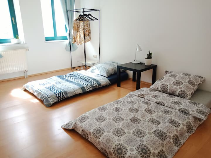 Double room with good price, Free parking