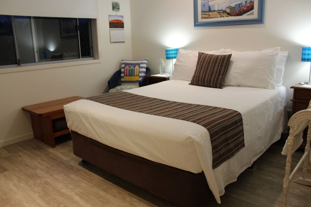 Your clean and comfy double room