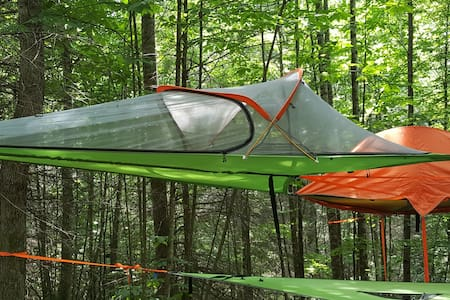 Stay in the Mountains in a Tree Tent w/ Hammock!