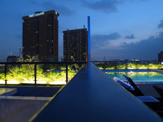 2 Mins to Bukit Bintang & Pavilion - Kuala Lumpur - Appartement