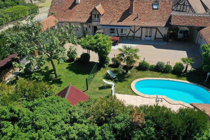 Proche Châteaux et Beauval : La Villa Eribelle
