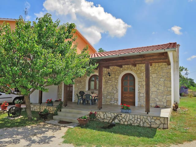 Relaxing holiday house Cekic with terrace and shared garden