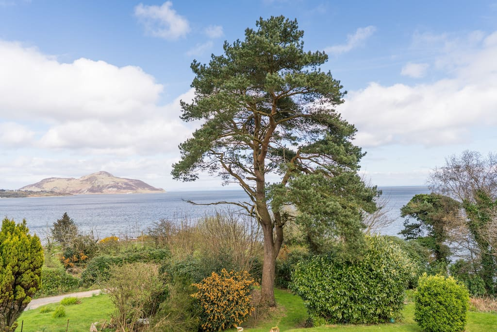 View to the Holy Isle