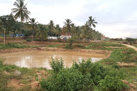 RK Farm-Countryside farmstay rejuvenating retreat - Bangalore - Loft