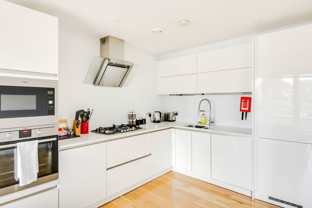 Modern kitchen with everything you could need