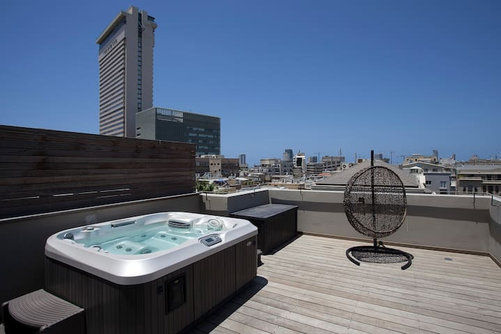 AHAD HA'AM DUPLEX PENTHOUSE  AMAZING VIEW. - Tel Aviv-Yafo - Appartement