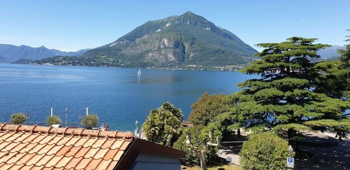 Superba vista Lago Como-park gratuito,casa d'epoca