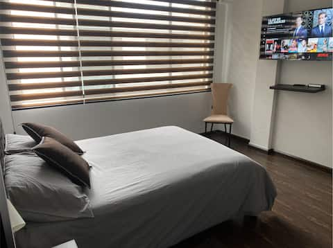 Moderno Apartamento 2 Hab - Centro de la Ciudad #1
