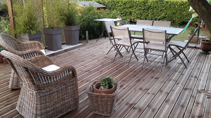 MAISON 110m2+veranda   campagne pro Grenoble 4 ch.