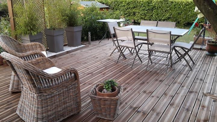 MAISON 110m2+veranda   campagne pro Grenoble 5 ch.