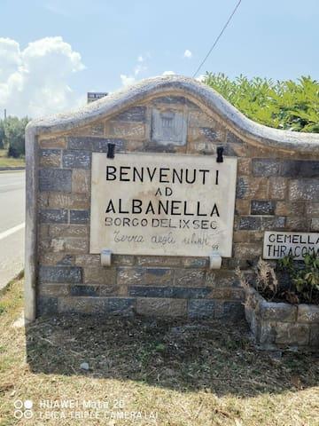 Casa di Beatrice in borgo antico Albanella
