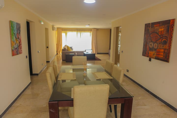 Emem Court, Ikoyi  - 3 Bed with Chef/Housekeeping