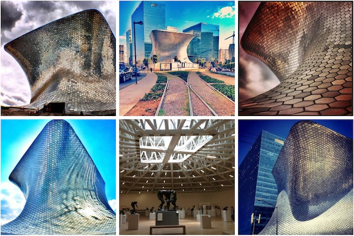 Museo Soumaya 29min. walking