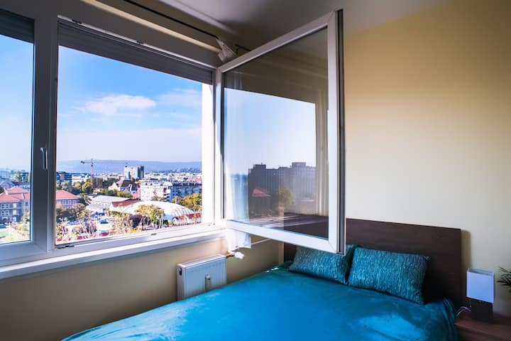 """The """"Budapest view"""" Apartment"""