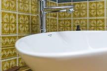 Une touche modern pour cette Vasque!