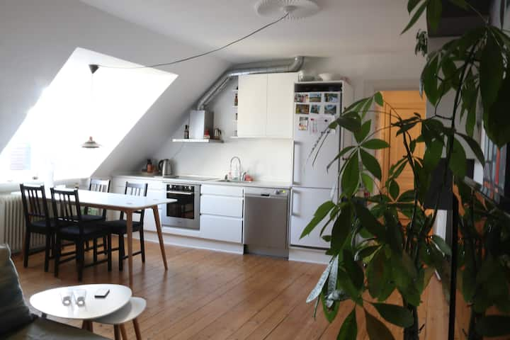 Charming city apartment at Østerbro
