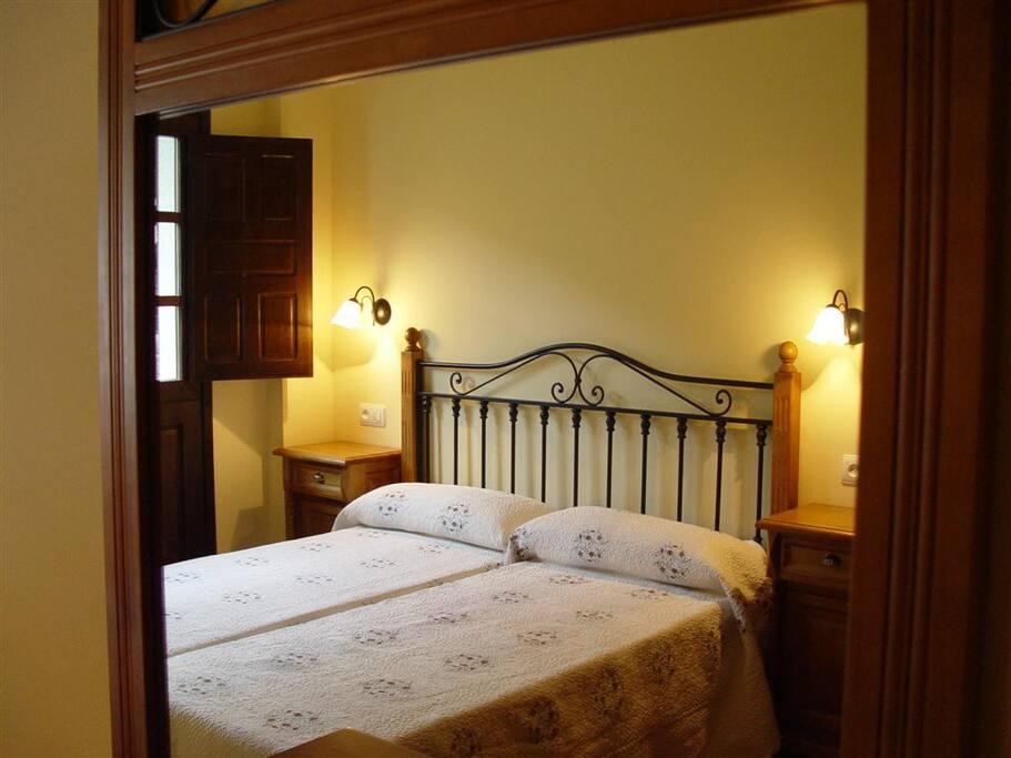 Habitación de 2 camas juntitas