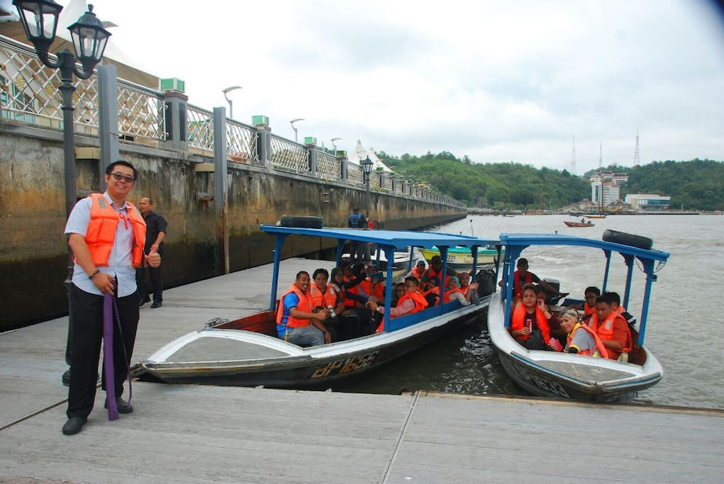 we have many customised tour packages around Sungai Brunei and Kampong Ayer.