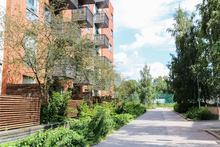East Helsinki WeHost @Klaavunpolku - Twin & Terrace