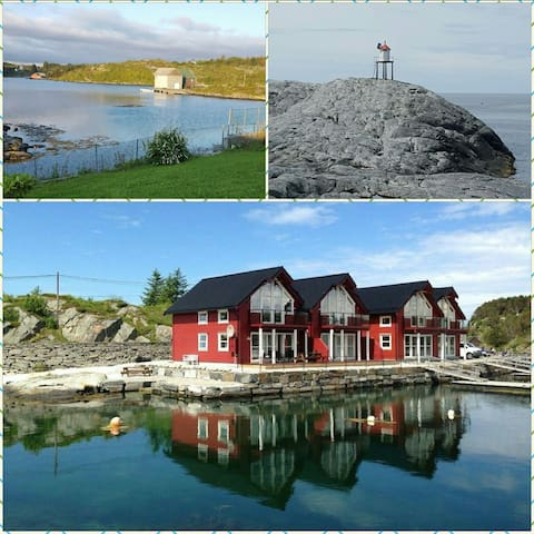 New lovely boathouse in Øygarden - Hordaland - Huoneisto