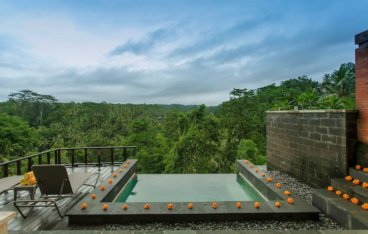 Private Pool Villa1@ Sayan Terrace
