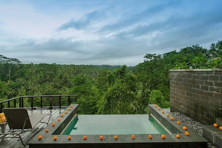 Private Pool Villa1@ Sayan Terrace - Ubud