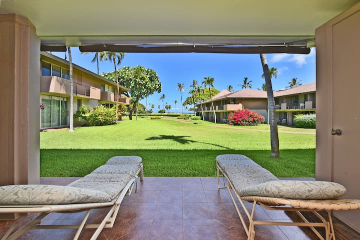 EL H107- Ground Floor condo in Beautiful Kaanapali
