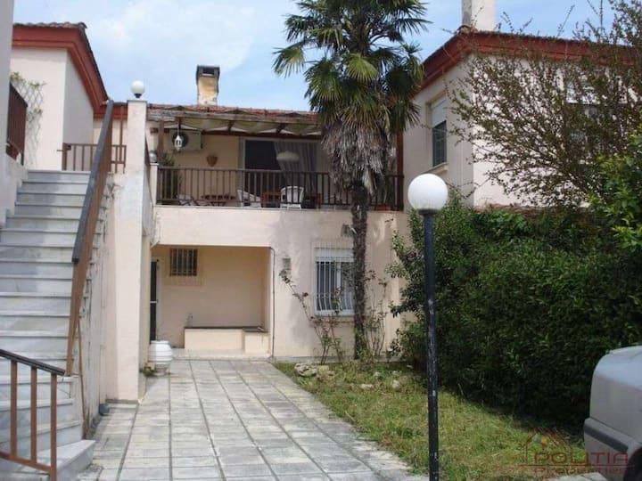 Charming  place in Posidi,large veranda,2 bedrooms