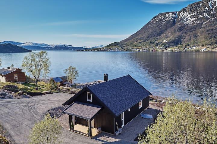 SE VIDEO!  Se Vesterålen og Lofoten fra ny hytte!