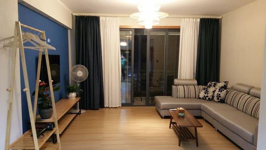 安吉泊心乡宿度假公寓(2居室) - Huzhou - Pis