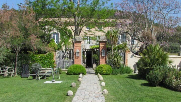 Chambre dans maison d'hôtes au coeur des vignes
