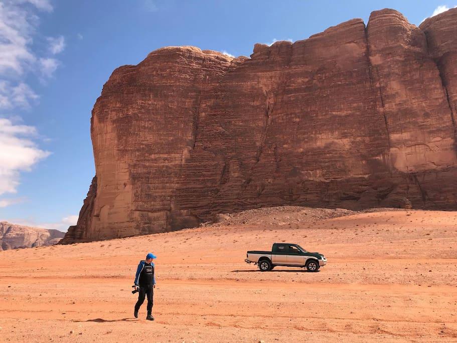 4x4 desert crossing