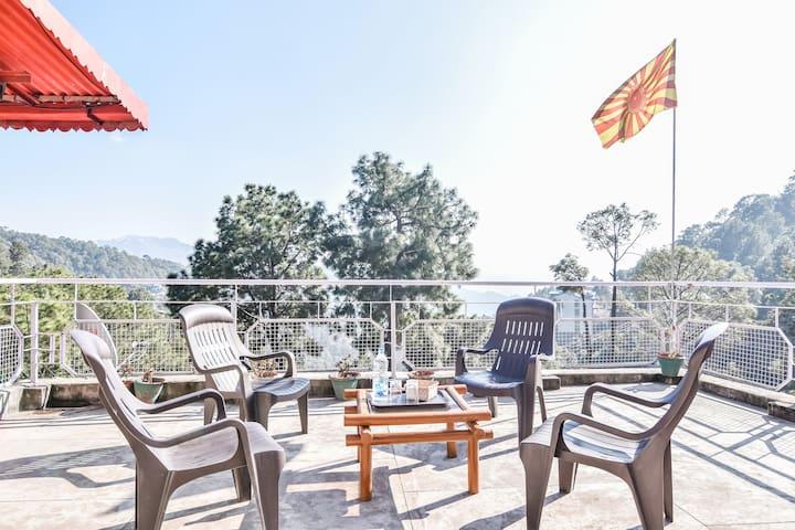 3 Bedroom | Rustic Villa | Lawn |Terrace