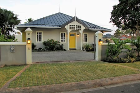 Oceana: 4BR/4BA, Private pool, 24 hr guard gated - Canaan