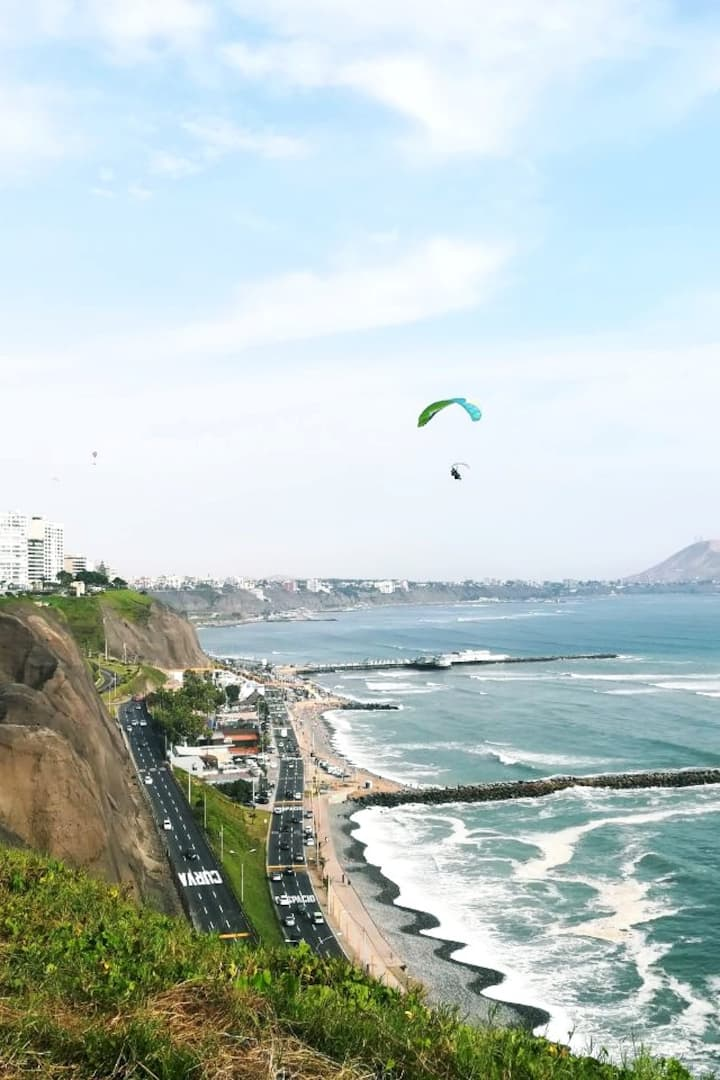 The Cliffs in Miraflores