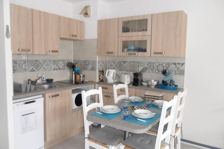 Treboul appartement 30m2 tout confort proche plage - Douarnenez - Apartemen