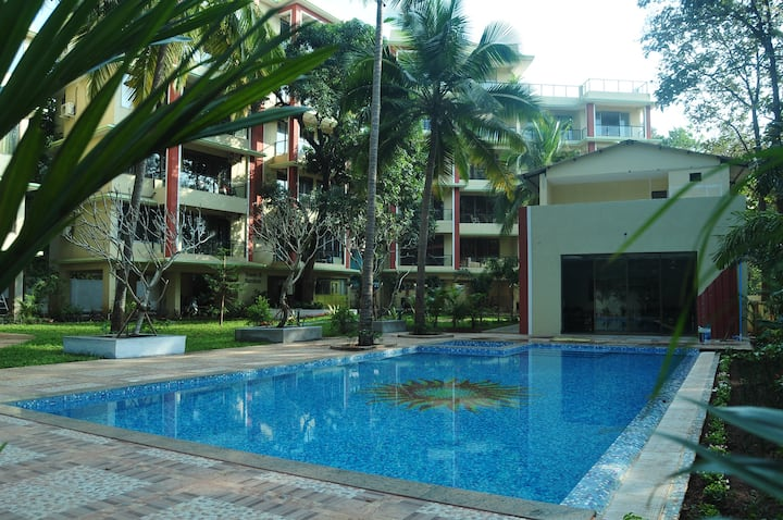 Luxurious Serviced Apartments at GREEN Palolem