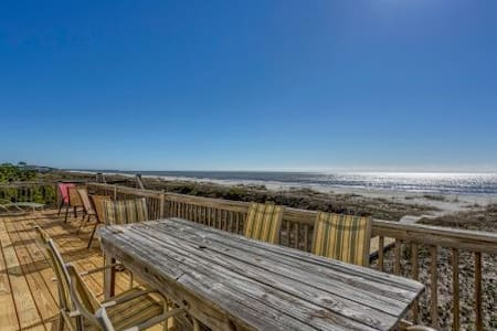 Gulf Front, Secluded Area, Plenty of Room ~ Hatchling Hideaway