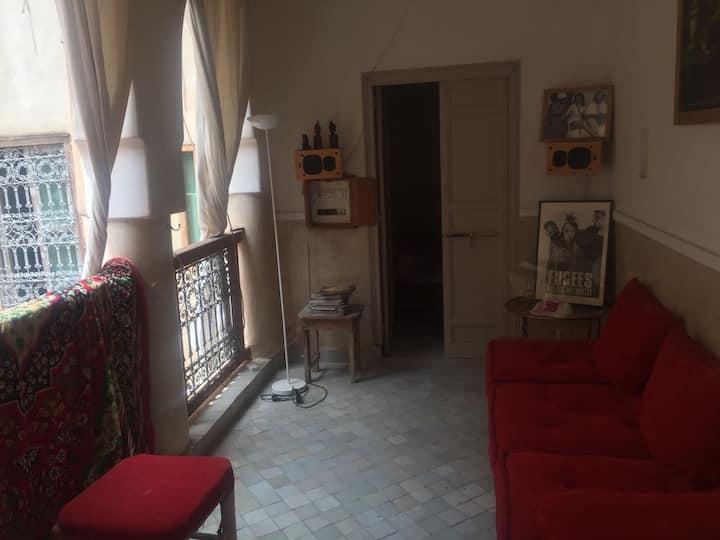 Des chambres à louer dans un riyad