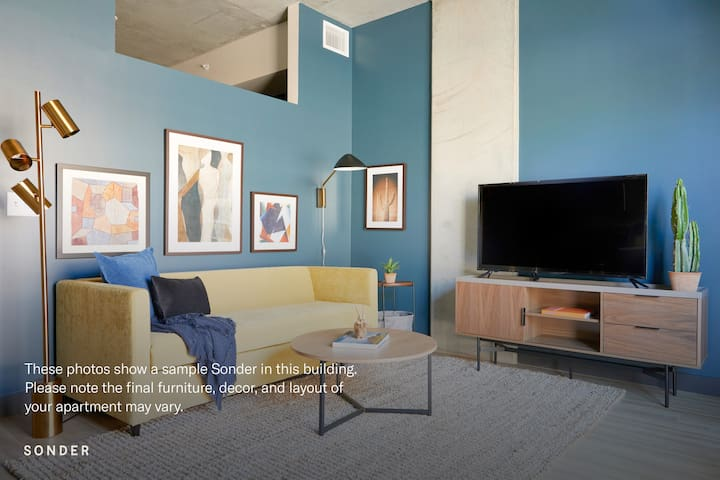 Sonder | Mill Suites | Lovely 1BR + Pool