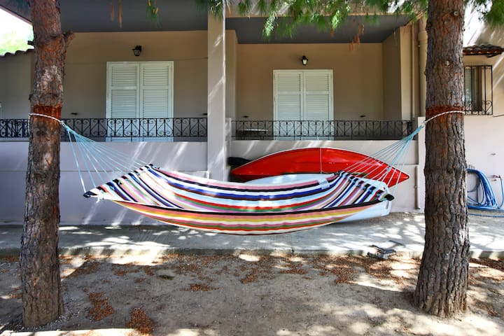 rear view - hammock