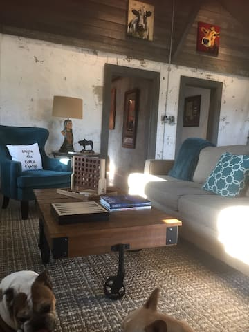 CHARMING!  Renovated barn 8 miles N of Weatherford - Weatherford - Casa
