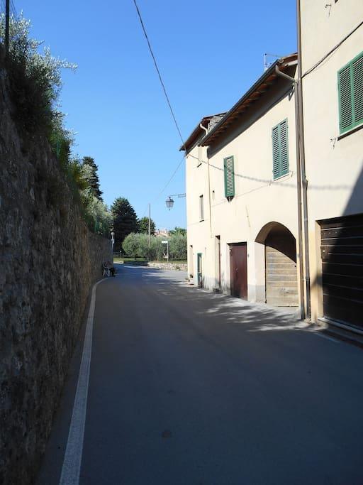la casa dalla strada